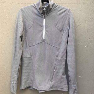 LULULEMON 8 silver sweater